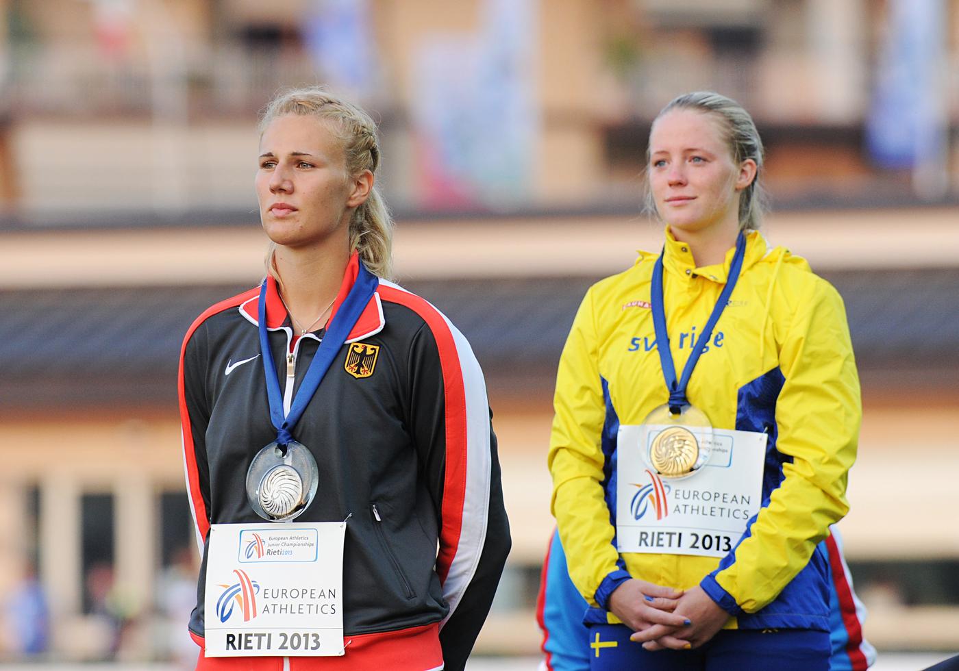 Christin Hussong,Speerwerfen,20.07.2013,Rieti/ITA,U-20-EM